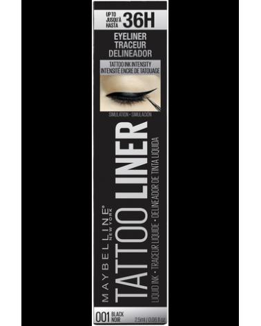 Delineador de ojos Maybelline Tattoo Gel Liner x 1.3g Maybelline - 1