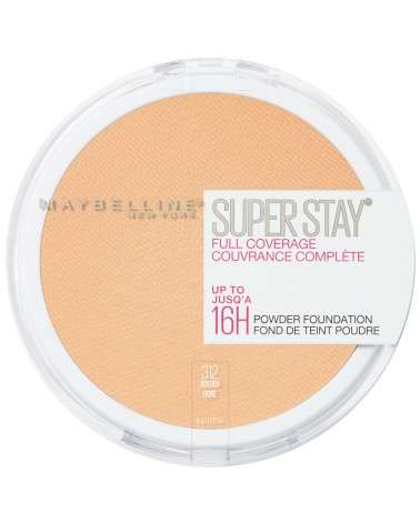 Polvo Compacto de Maquillaje Maybelline Super Stay 24hs Full Coverage Golden Maybelline - 1