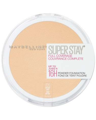 Polvo Compacto de Maquillaje Maybelline Super Stay 24hs Full Coverage Natural Beige Maybelline - 1