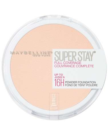 Polvo Compacto de Maquillaje Maybelline Super Stay 24hs Full Coverage Buff Beige Maybelline - 1