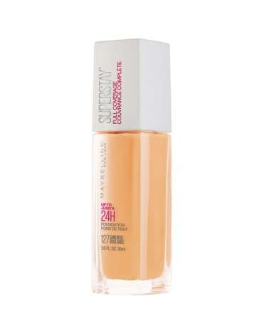 Base De Maquillaje Maybelline Super Stay 24Hs Full Coverage Sand Beige 127 X30 Ml Maybelline - 1