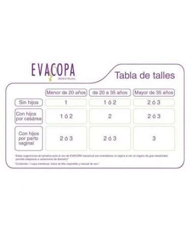 EVA COPA TALLE 2 D44 COPA MENSTRUAL Evatest - 2