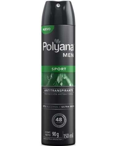 Antitranspirante Aerosol Polyana Men Sport X 150 Ml Polyana - 1