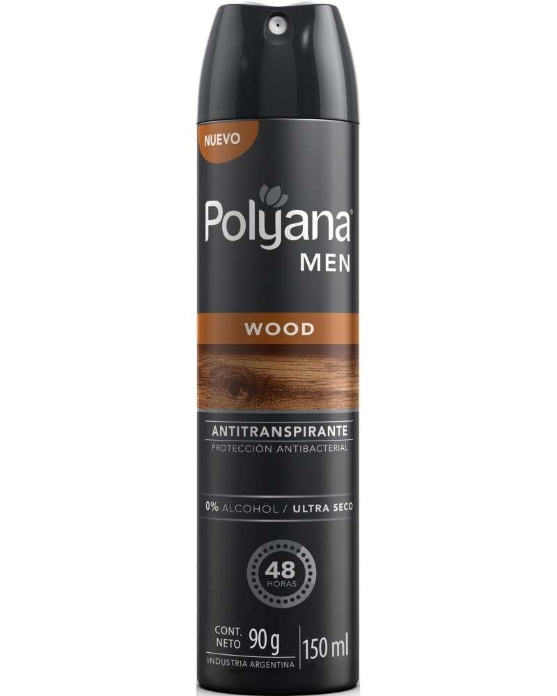ANTITRANSPIRANTE AEROSOL POLYANA MEN WOOD X 150 ML Polyana - 1