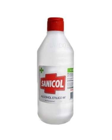 Alcohol etílico de 96° SANICOL 500cc SANICOL - 1
