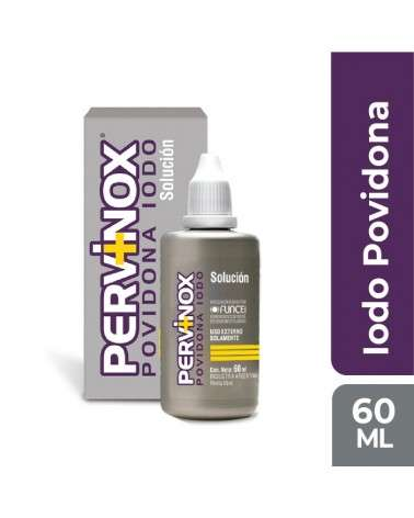 Pervinox Soluc. Topica X 60 Ml PERVINOX - 1