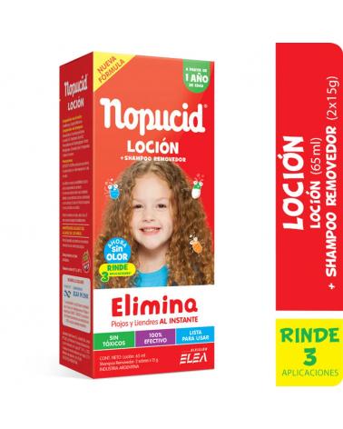 NOPUCID LOCION Elimina Piojos y Liendres 65 ML NOPUCID - 1