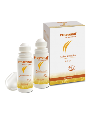 Proavenal desodorante roll on x100ml x2 Proavenal - 1