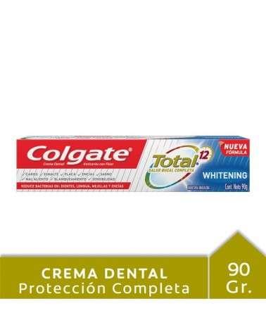 Crema Dental Colgate Total 12 Whitening 90G Colgate - 1