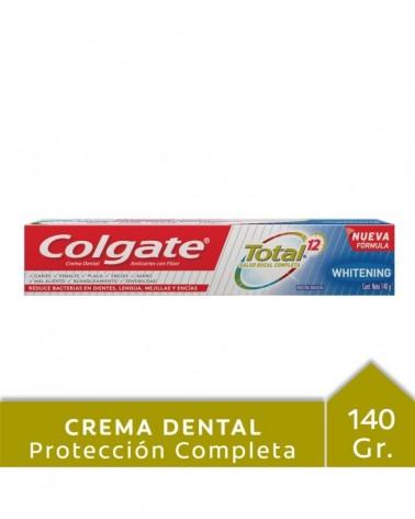 Crema Dental Colgate Total 12 Whitening 140G Colgate - 1