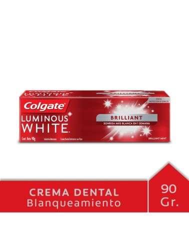 Crema Dental Colgate Luminous White Brilliant 90G Colgate - 1