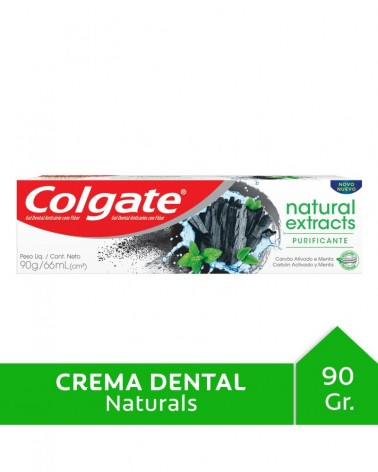 Crema Dental Colgate Natural Extracts Purificante 90G Colgate - 1