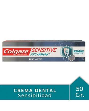 Crema Dental Colgate Sensitive Pro Alivio Real White 50grs Colgate - 1