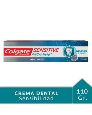 Crema Dental Colgate Sensitive Pro-Alivio Real White 110g Colgate - 1