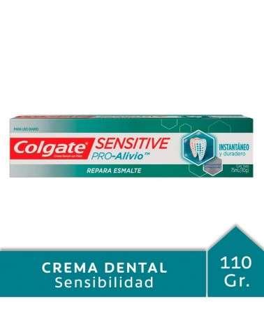 Crema Dental Colgate Sensitive Pro-Alivio Repara Esmalte 110g Colgate - 1
