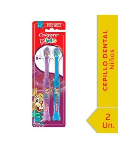 Cepillo Dental Colgate Kids 5+ Años 2Unid Colgate - 1