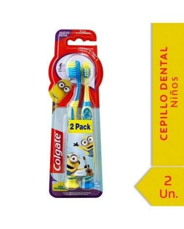 Cepillo Dental Colgate Smiles Minions 6+ Años 2Unid Colgate - 1