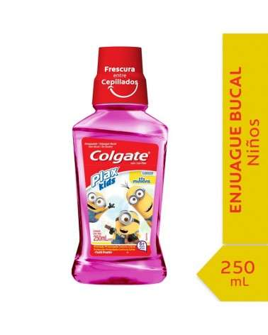Enjuague Bucal Colgate Plax Minions 250ml Colgate - 1
