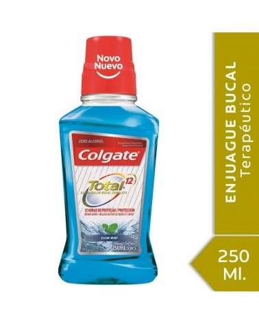 Enjuague Bucal Colgate Total 12 Clean Mint 250ml Colgate - 1