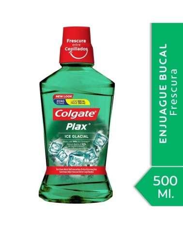 Enjuague Bucal Colgate Plax Ice Glacial 500ml Promo Lleve 500ml Pague 350ml Colgate - 1