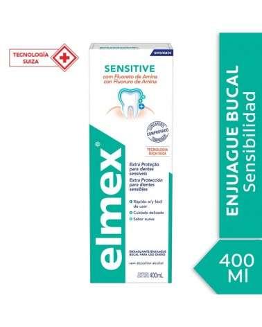 Enjuague Bucal Elmex Sensitive 400ml Elmex - 1