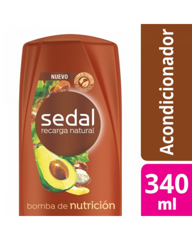 SEDAL CO BOMBA NUTRICION 12X340ML Sedal - 1