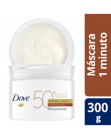 DOVE MASC 1 MINUTO F NUTRICION50+ 6X300G Dove - 1