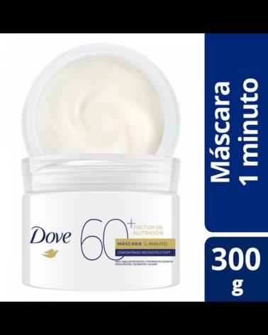 DOVE MASC 1 MINUTO F NUTRICION60+ 6X300G Dove - 1
