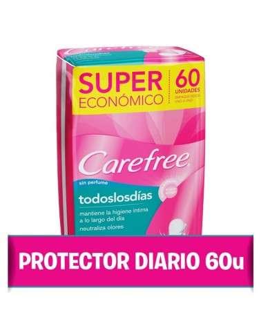 Protectores Diarios Carefree® Todos Los Dias X 60 Un. Carefree - 1