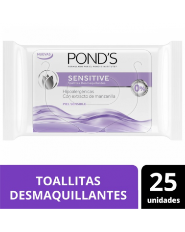Ponds Twl Desmaq Sensitive 12X25Un Ponds - 1