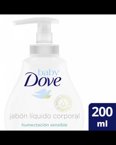 Dove Baby Jab Liq H Sens X200Ml Exp Baby Dove - 1