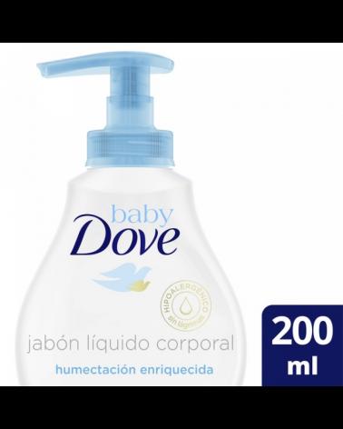 Dove Baby Jab Liq H Enr X200Ml Exp Baby Dove - 1