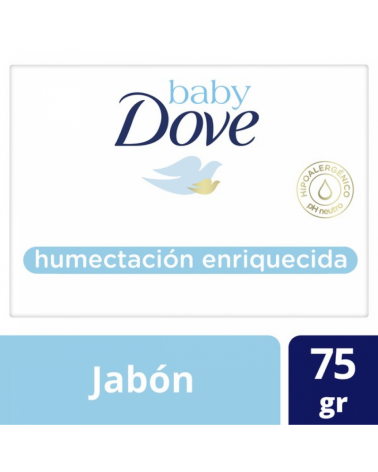 Dove Baby Jab Hidrat Enriq X75G Exp Baby Dove - 1