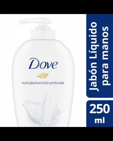 DOVE JAB LIQ P/M NUTRICION PROF 6X250ML Dove - 1