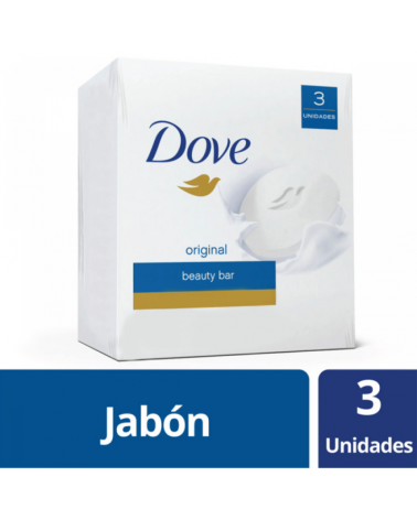Dove Jab Blanco 3X90G Dove - 1