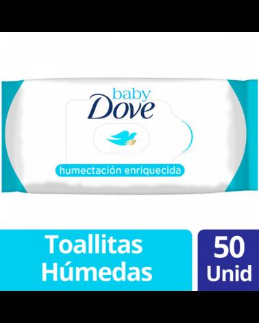 Dove Baby Toalt Humect Enr X50Un Baby Dove - 1