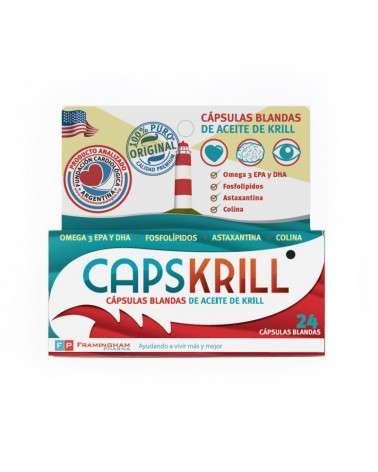 CAPSKRILL CAPS BLANDAS X 24 Framingham Pharm - 1