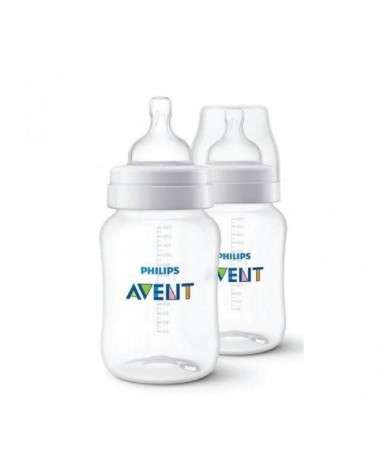 Avent - Scf 563/29 Pack X 2 Mamaderas Classic+ 260Ml Avent - 1