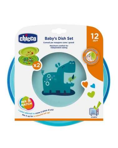 CHICCO - Set de Platos Nene +12M Chicco - 1