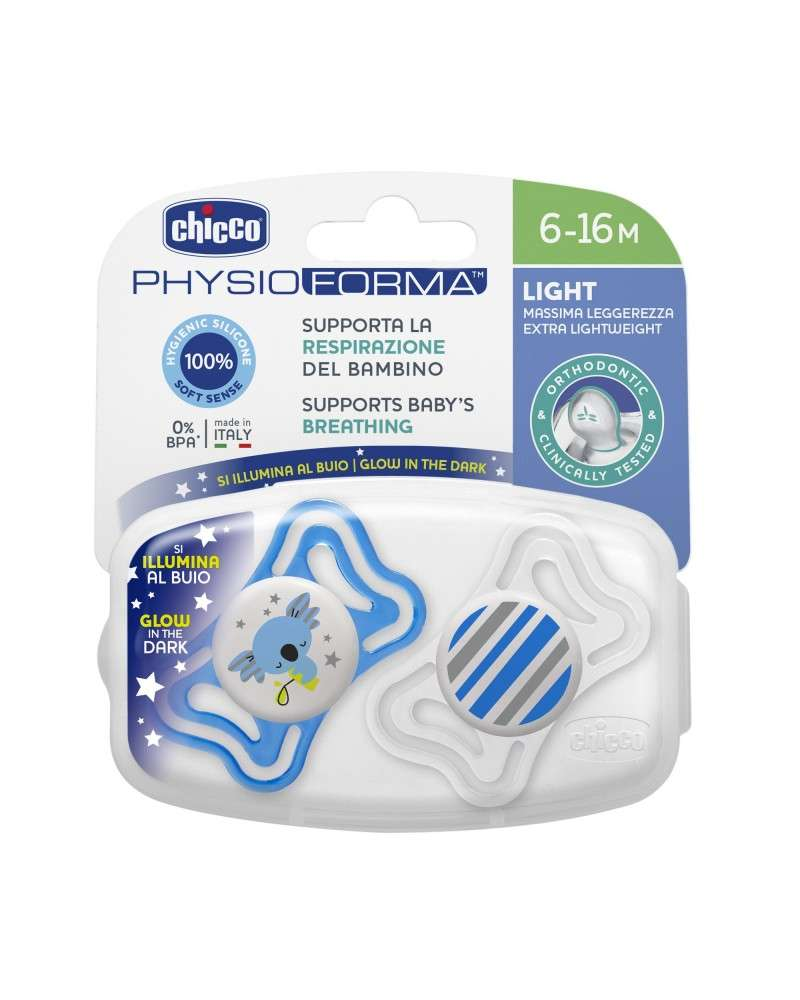 Nocturnos Physio Light Lumi 6-16M SIL 2P C Chicco - 1
