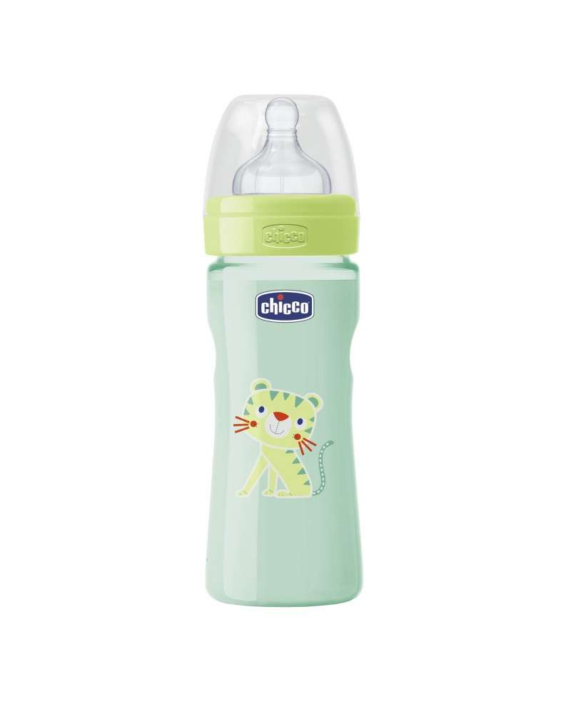 Mamadera Color Well-Being - Flujo Medio 250 Ml Neutral Chicco - 1
