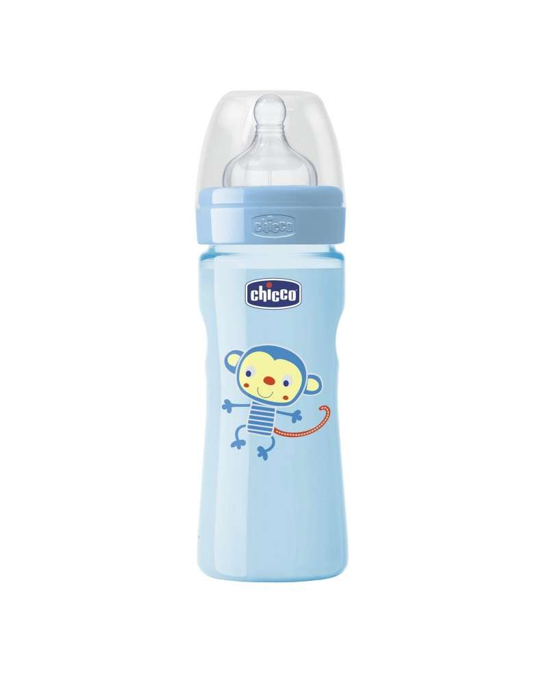 Mamadera Color Well-Being - Flujo Medio 250 Ml Nene Chicco - 1