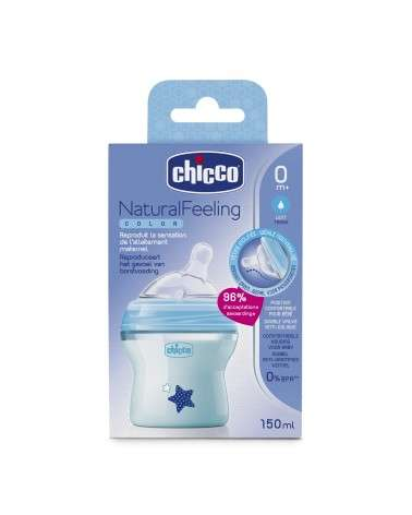 Chicco - Natural Feeling Color Celeste 0M+ Chicco - 1