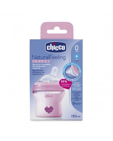 Chicco - Natural Feeling Color Rosa 0M+ Chicco - 1