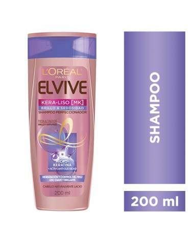 Shampoo Keraliso Brillo Y Sedosidad Elvive L´Oréal Paris 200Ml Elvive - 2