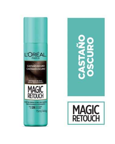 Magic Retouch de Loreal Paris Castaño x 75 ML  - 1
